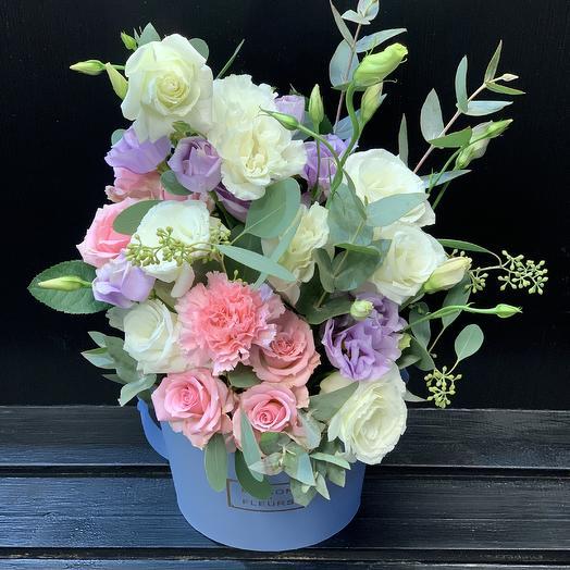 Композиция воздушная: букеты цветов на заказ Flowwow
