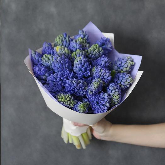 """Букет """"Голубая лагуна"""": букеты цветов на заказ Flowwow"""