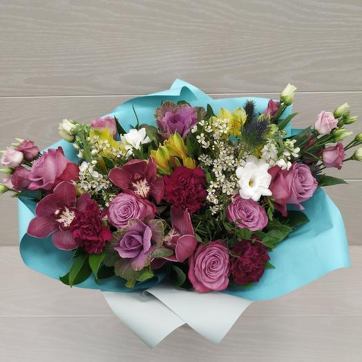 "Авторский букет ""Бабочки"": букеты цветов на заказ Flowwow"