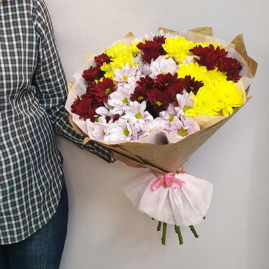 Ромашково поле: букеты цветов на заказ Flowwow