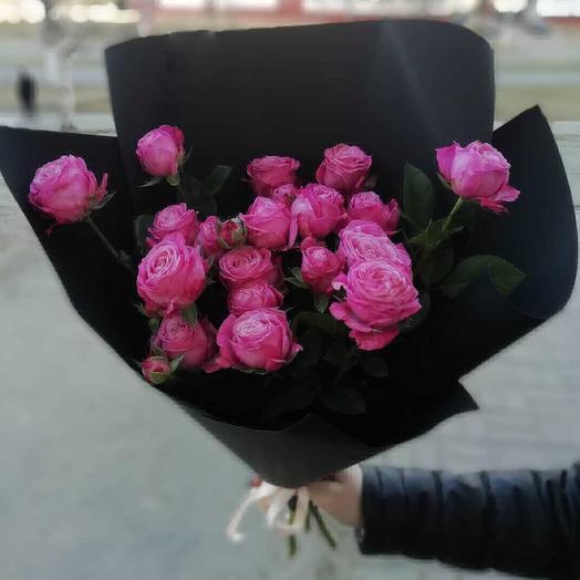 Розовый привет: букеты цветов на заказ Flowwow