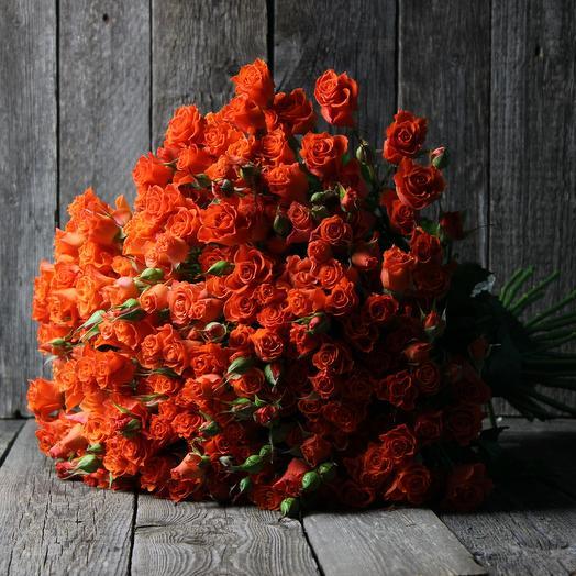 39 кустовых роз ALEGRIA: букеты цветов на заказ Flowwow