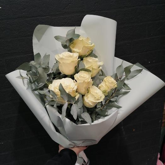 Белое настроение: букеты цветов на заказ Flowwow