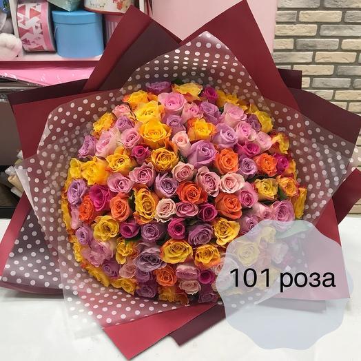 101 мини роза