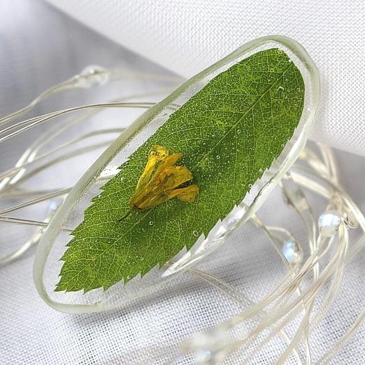 """Брошь """"Листопад"""": букеты цветов на заказ Flowwow"""