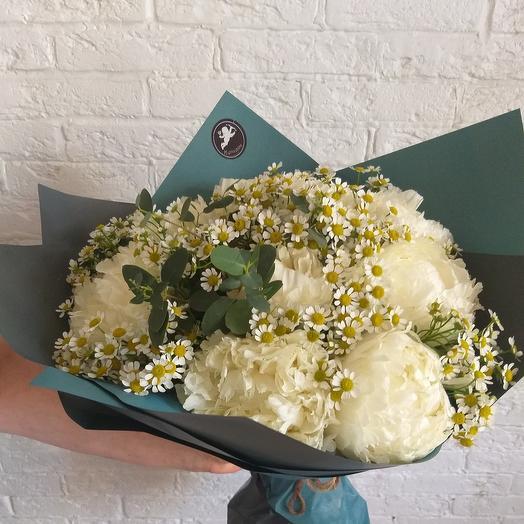 """Букет """"пионы"""": букеты цветов на заказ Flowwow"""