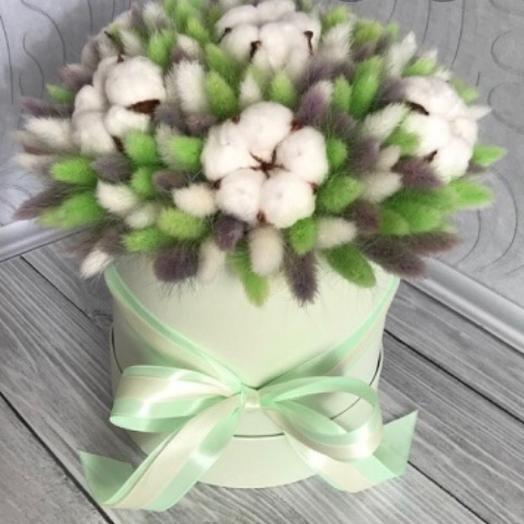 Композиция лагурус: букеты цветов на заказ Flowwow
