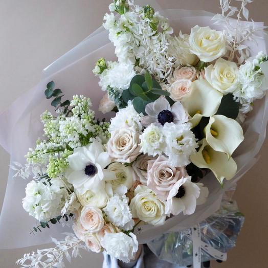 Букет цветов,,Зимний сон