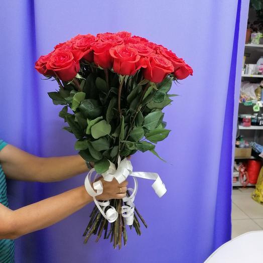 Монобукет из 35 роз