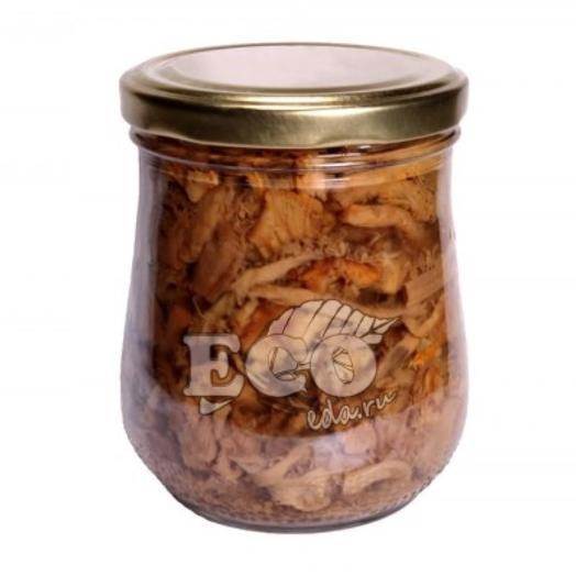 Солёные грибы Солёные лисички резаные «Премиум», 500 г