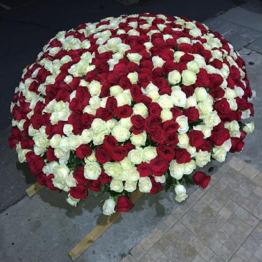 """1001 роза """"Elite Flowers"""""""