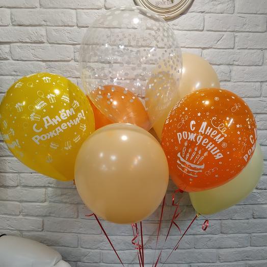 7 шаров к Дню рождения