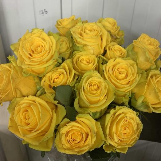 Розы солнечное настроение