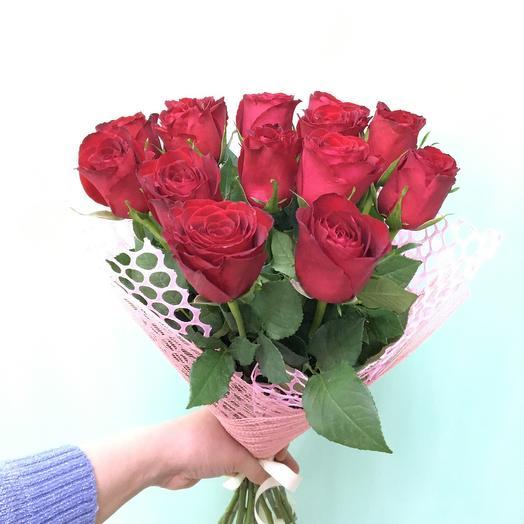 Роза Кения красная