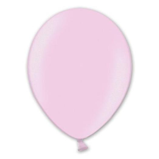 "Шар с гелием 12""/30 см розовый металлик"