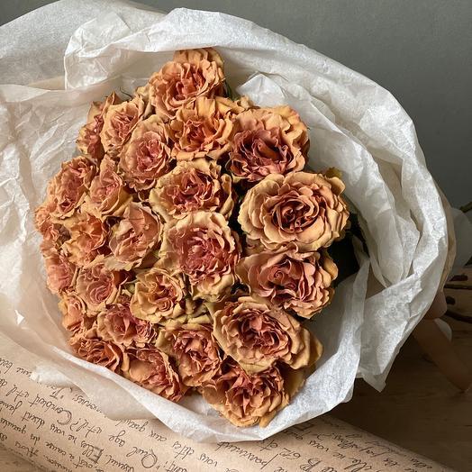Премиум розы Тоффи