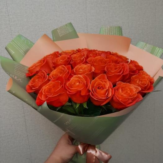 Монобукет из 25 роз
