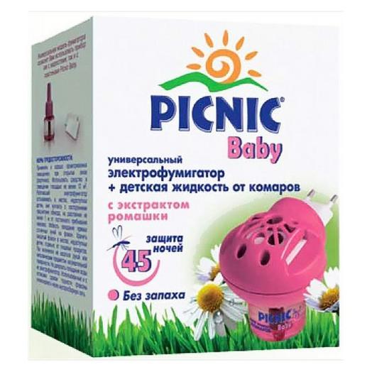 Picnic Baby комплект фумигатор + жидкость