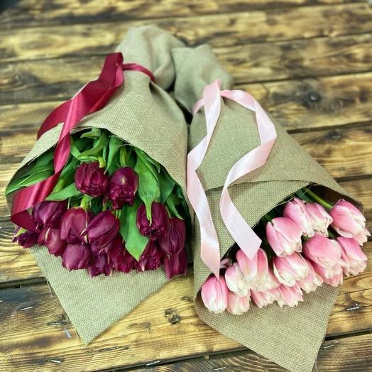 Тюльпаны Пионовидные