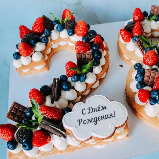 Торт «Цифра» (1 цифра)