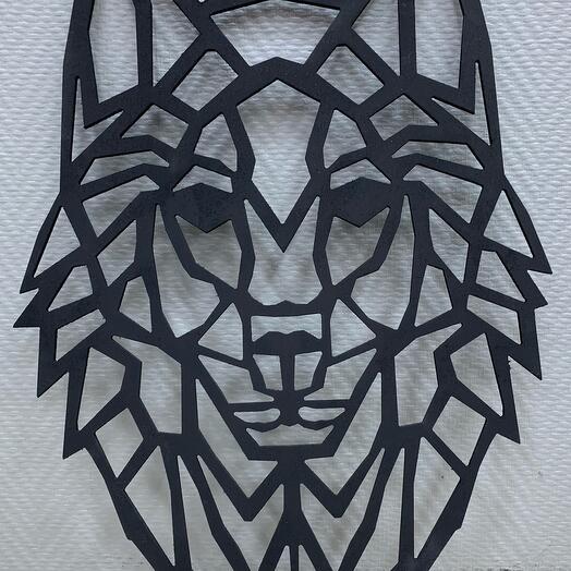 Панно Волк