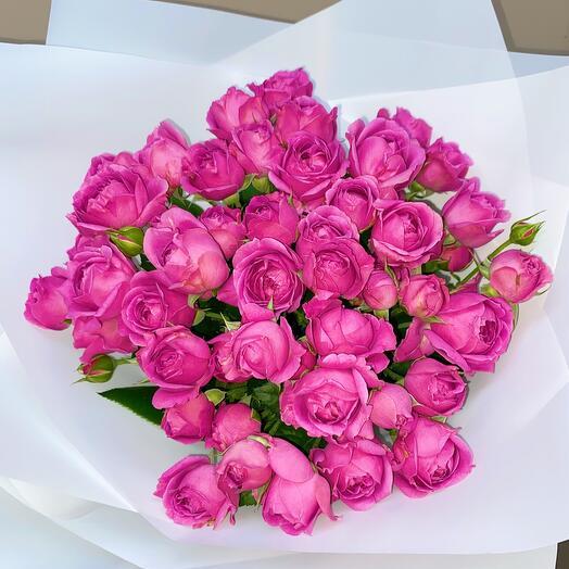 Букет из Кустовых Роз S