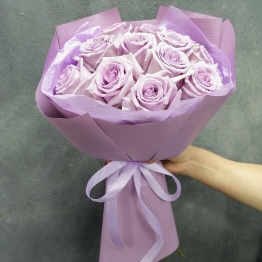 Merci (нежные розы 11 шт.)