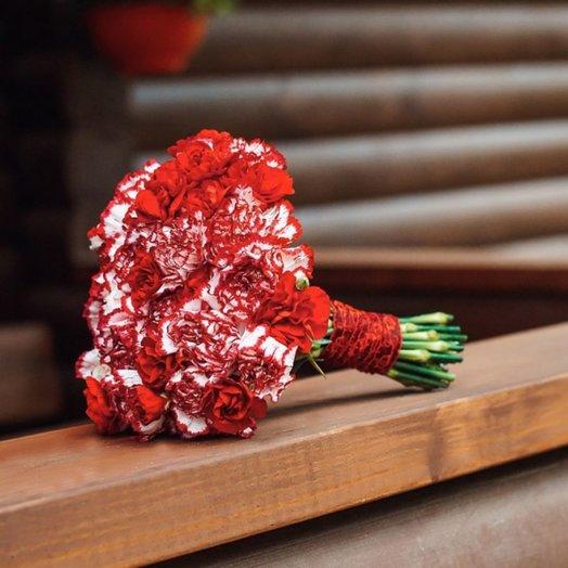 Букет невесты в вишневом цвете: букеты цветов на заказ Flowwow