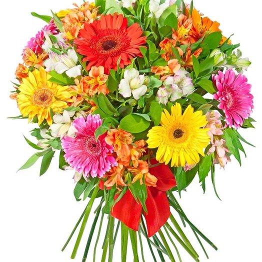 «Летняя идилия»: букеты цветов на заказ Flowwow