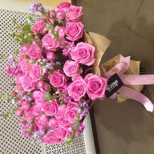 Elizabeth: букеты цветов на заказ Flowwow