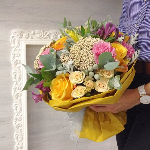 Летненее настроение: букеты цветов на заказ Flowwow