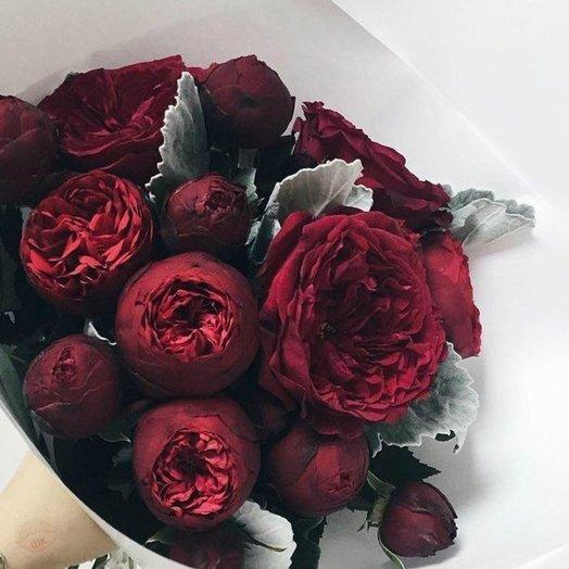 Пионовидная Роскошь Страсти: букеты цветов на заказ Flowwow
