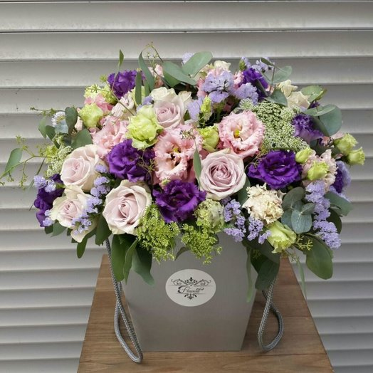 Нежная вспышка: букеты цветов на заказ Flowwow