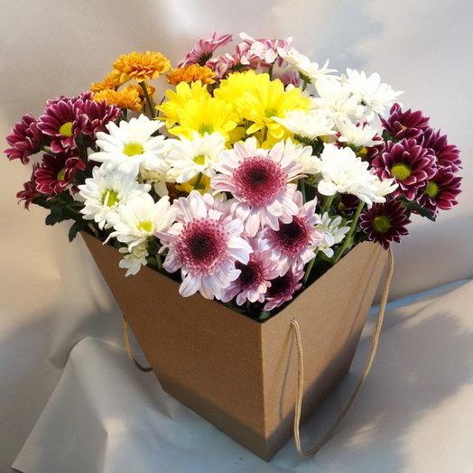 Композиция Яркий привет: букеты цветов на заказ Flowwow