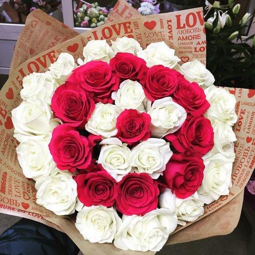 Букет Спираль: букеты цветов на заказ Flowwow