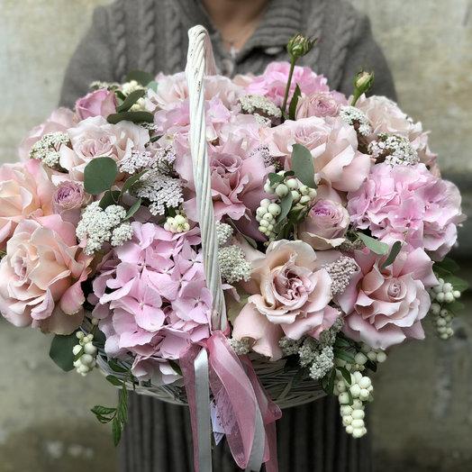 Корзина нюда: букеты цветов на заказ Flowwow