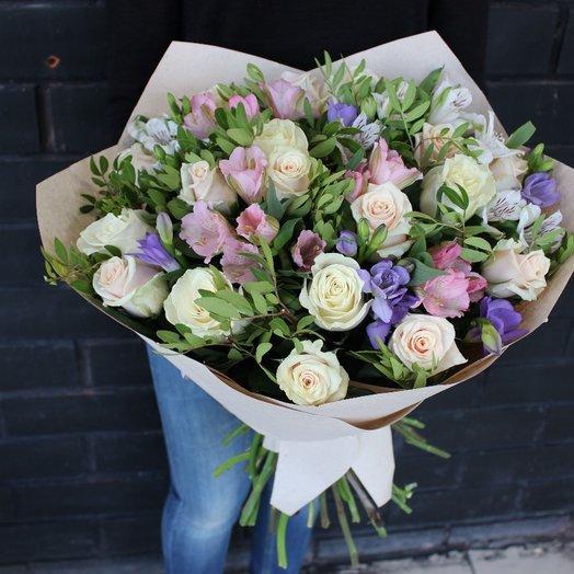 Цветы любимой: букеты цветов на заказ Flowwow