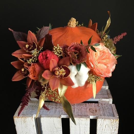 Тыковка моя ! : букеты цветов на заказ Flowwow