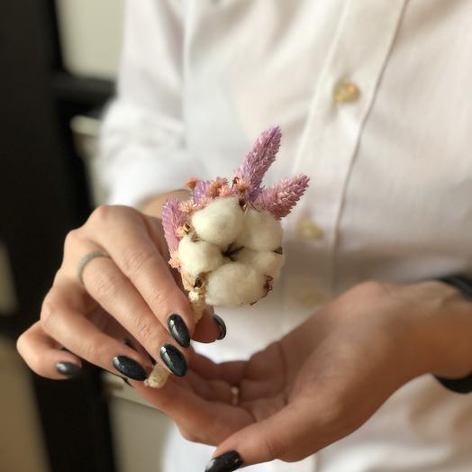 Бутоньерка: букеты цветов на заказ Flowwow