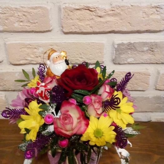 С Наступающим, мои любимые: букеты цветов на заказ Flowwow