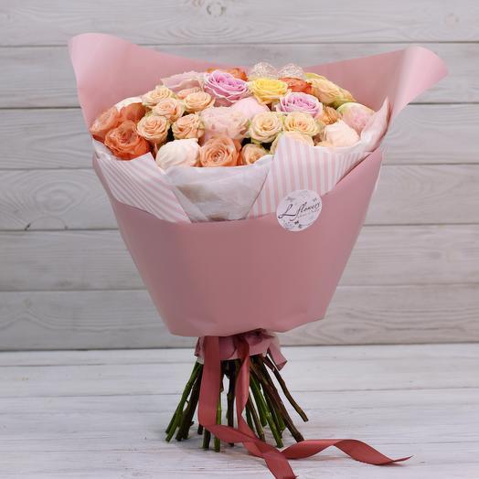 Букет Сладости: букеты цветов на заказ Flowwow