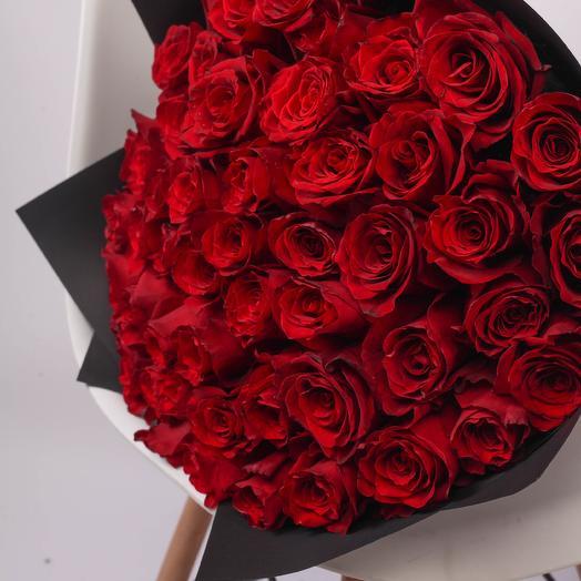 51 роза 50см Premium