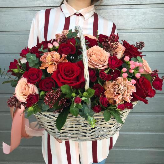 Винтажная роза: букеты цветов на заказ Flowwow