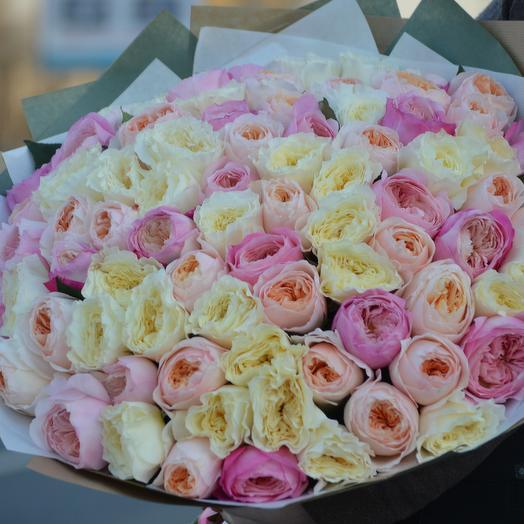 В ритме большого города: букеты цветов на заказ Flowwow