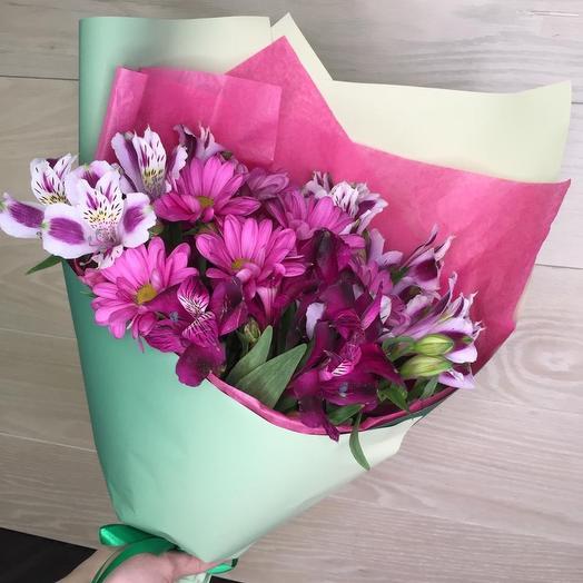Букет 1865: букеты цветов на заказ Flowwow