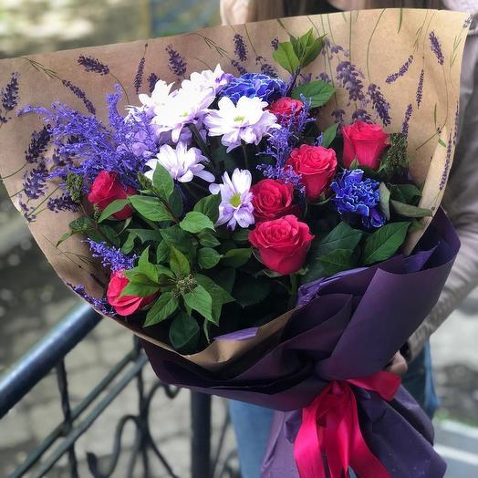 Синева Нева: букеты цветов на заказ Flowwow