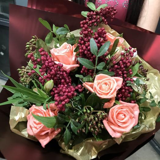Французкий: букеты цветов на заказ Flowwow