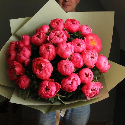 Coral 25: букеты цветов на заказ Flowwow
