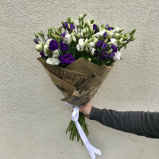 Букет цветов «Инь-Янь»: букеты цветов на заказ Flowwow