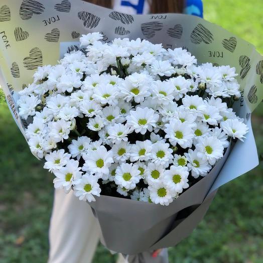 21 хризантема: букеты цветов на заказ Flowwow